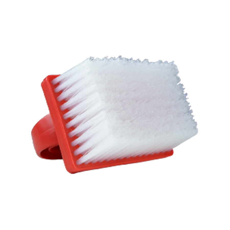 Escova Manual Para Estofados Vermelha Bralimpia