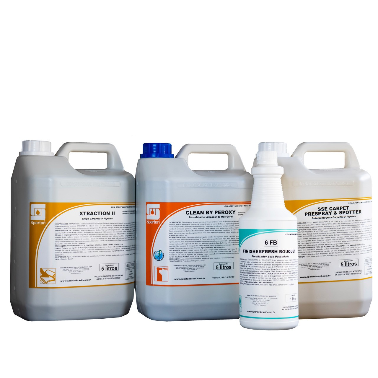 Kit Xtraction Il / Clean By Peroxy / Sse Carpet / Odorizador