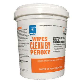 Limpador de Uso Geral Clean By Peroxy Wipes Spartan