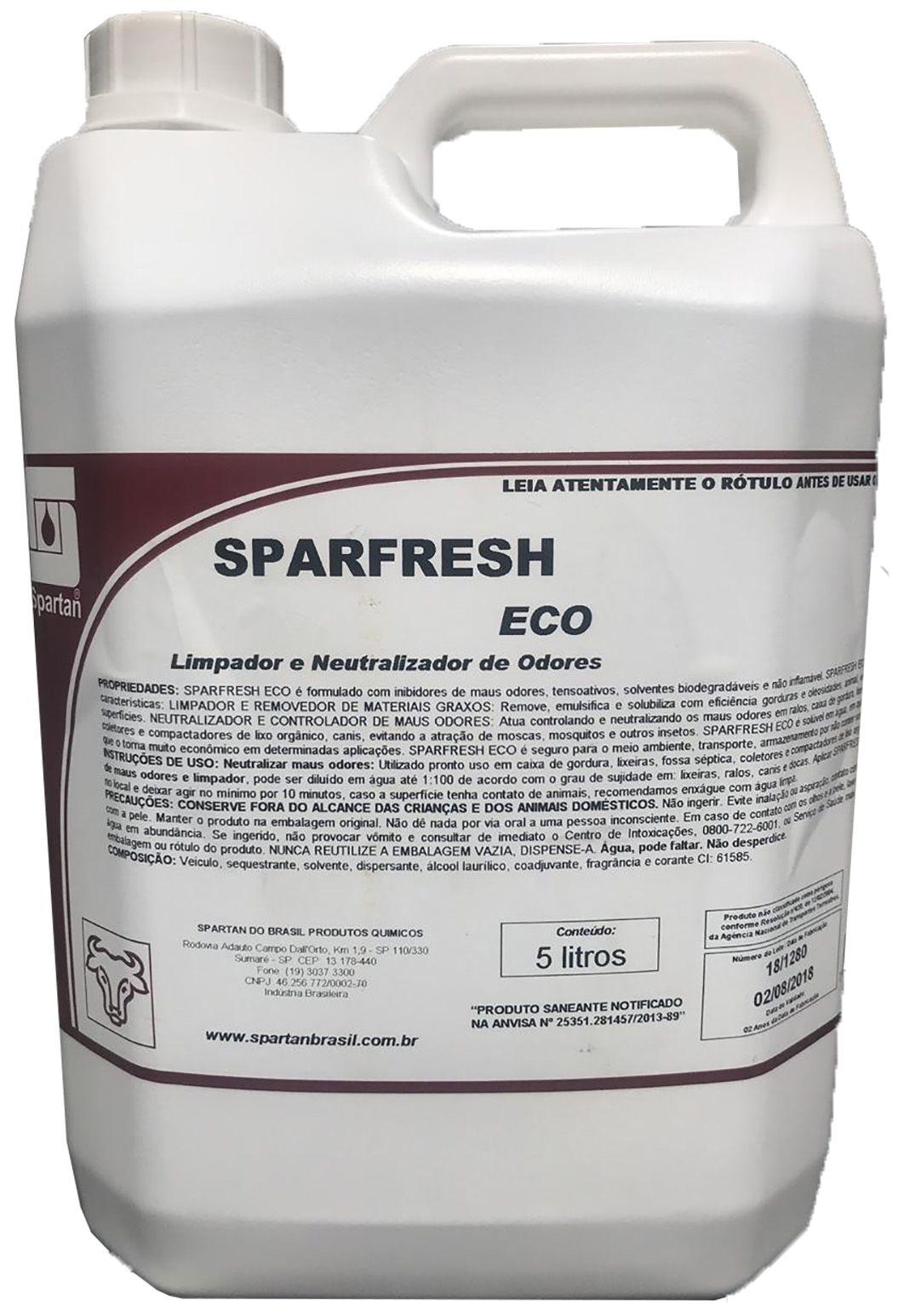 Limpador e Neutralizador de Odores Sparfresh Eco 5L Spartan