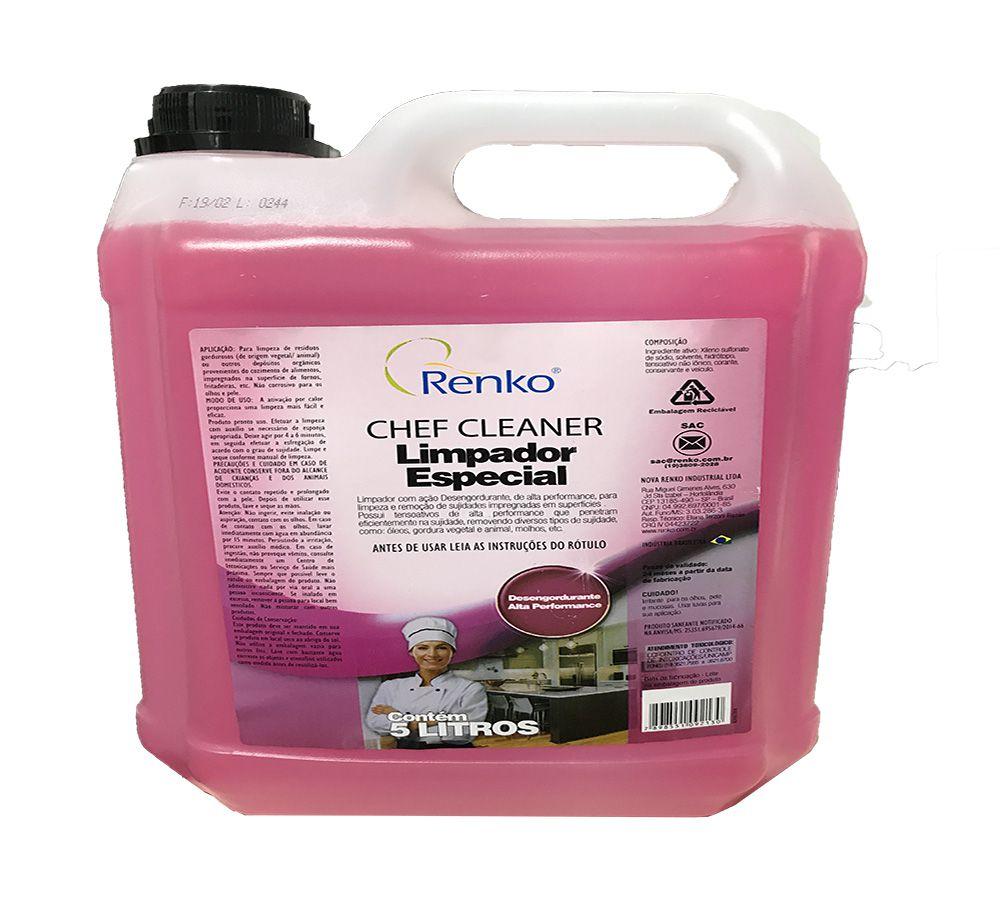 Limpador Especial Chef Cleaner 5L Renko