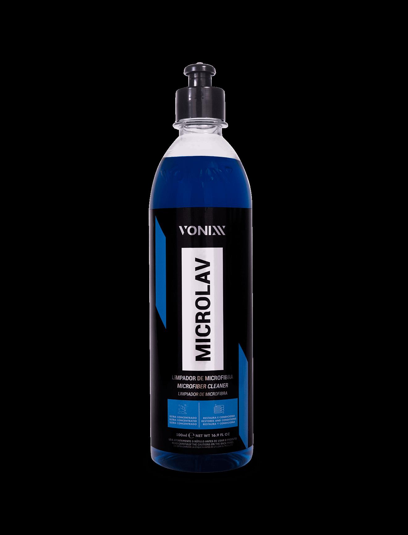 Limpador Para Pano de Microfibra Microlav 500 ml Vonixx