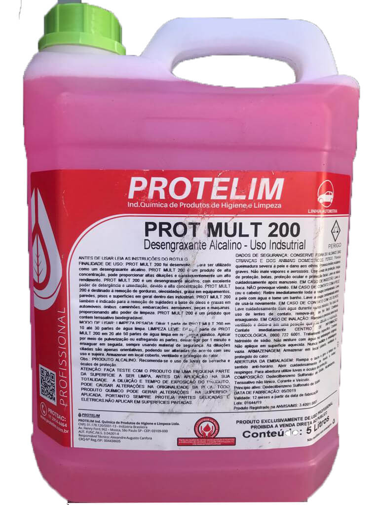 Multiuso Concentrado Prot Mult 200 5L Protelim