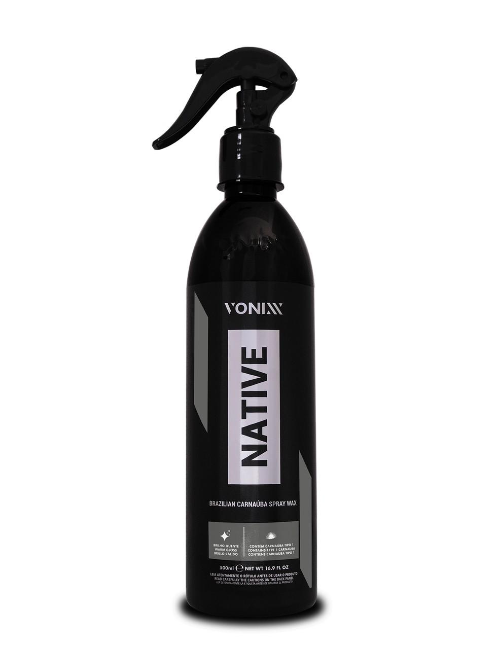 Native Wax Cera de Carnaúba Spray 500ml Vonixx