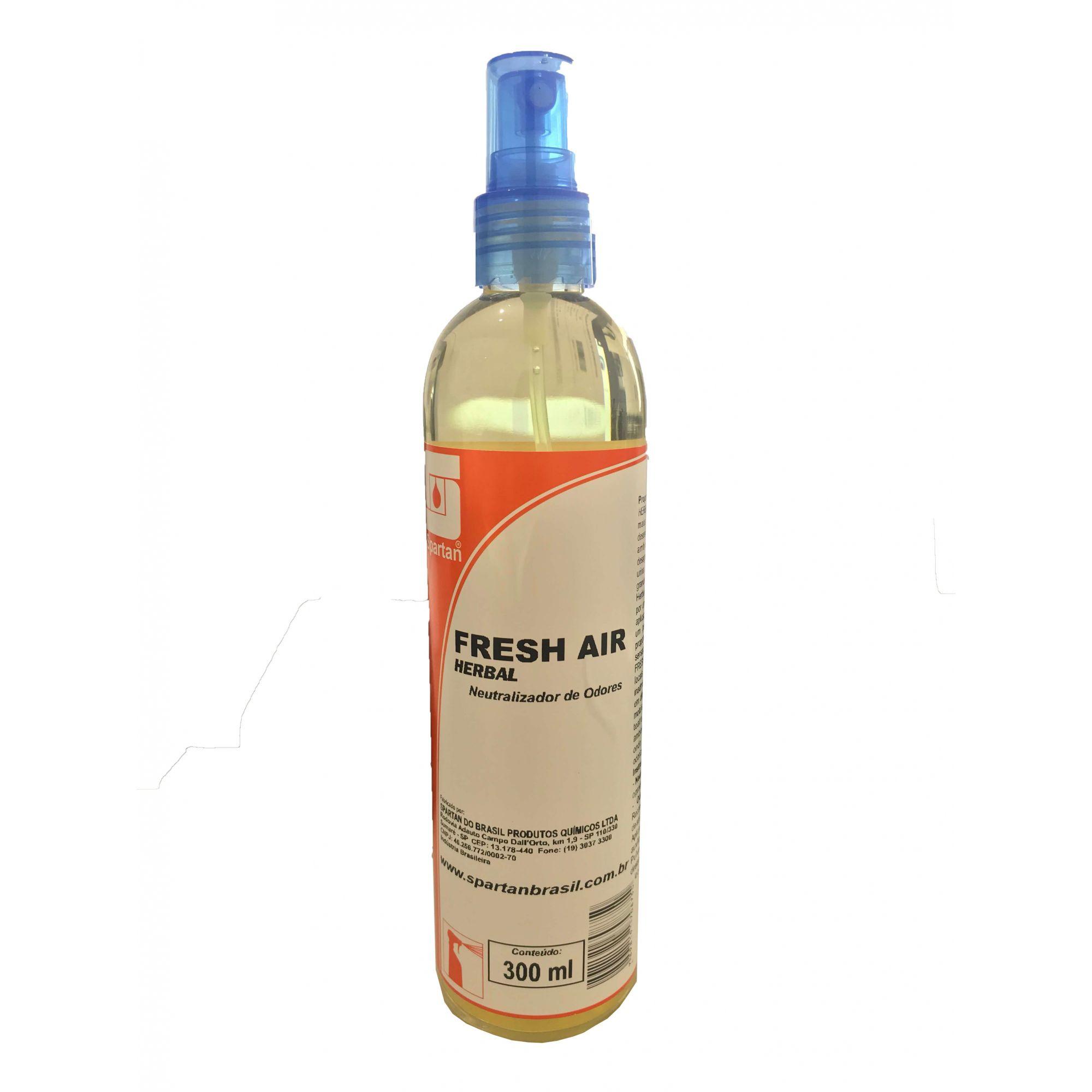 Neutralizador de Odores Fresh Air Herbal 300 ml Spartan