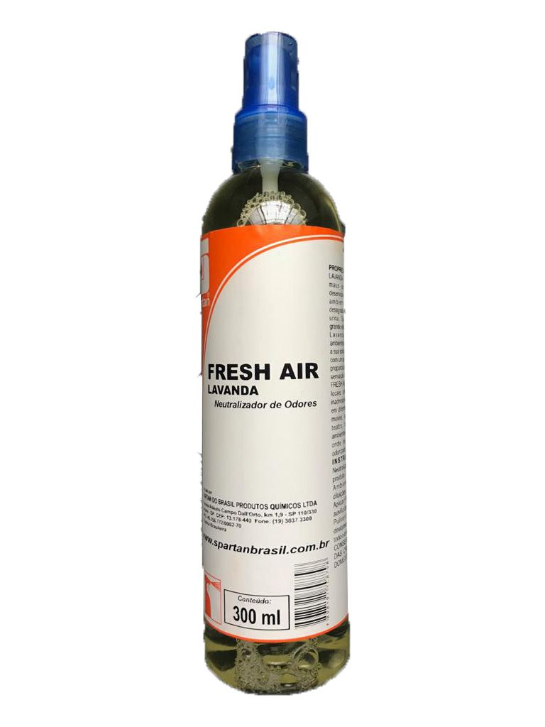 Neutralizador de Odores Fresh Air Lavanda 300 ml Spartan