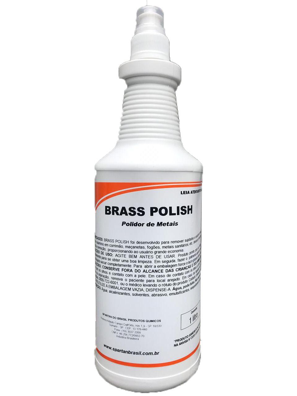 Polidor de Metais Brass Polish 1L Spartan