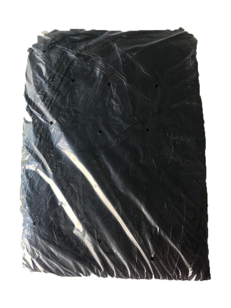 Saco de Lixo Preto 40L Com 100 Unidades