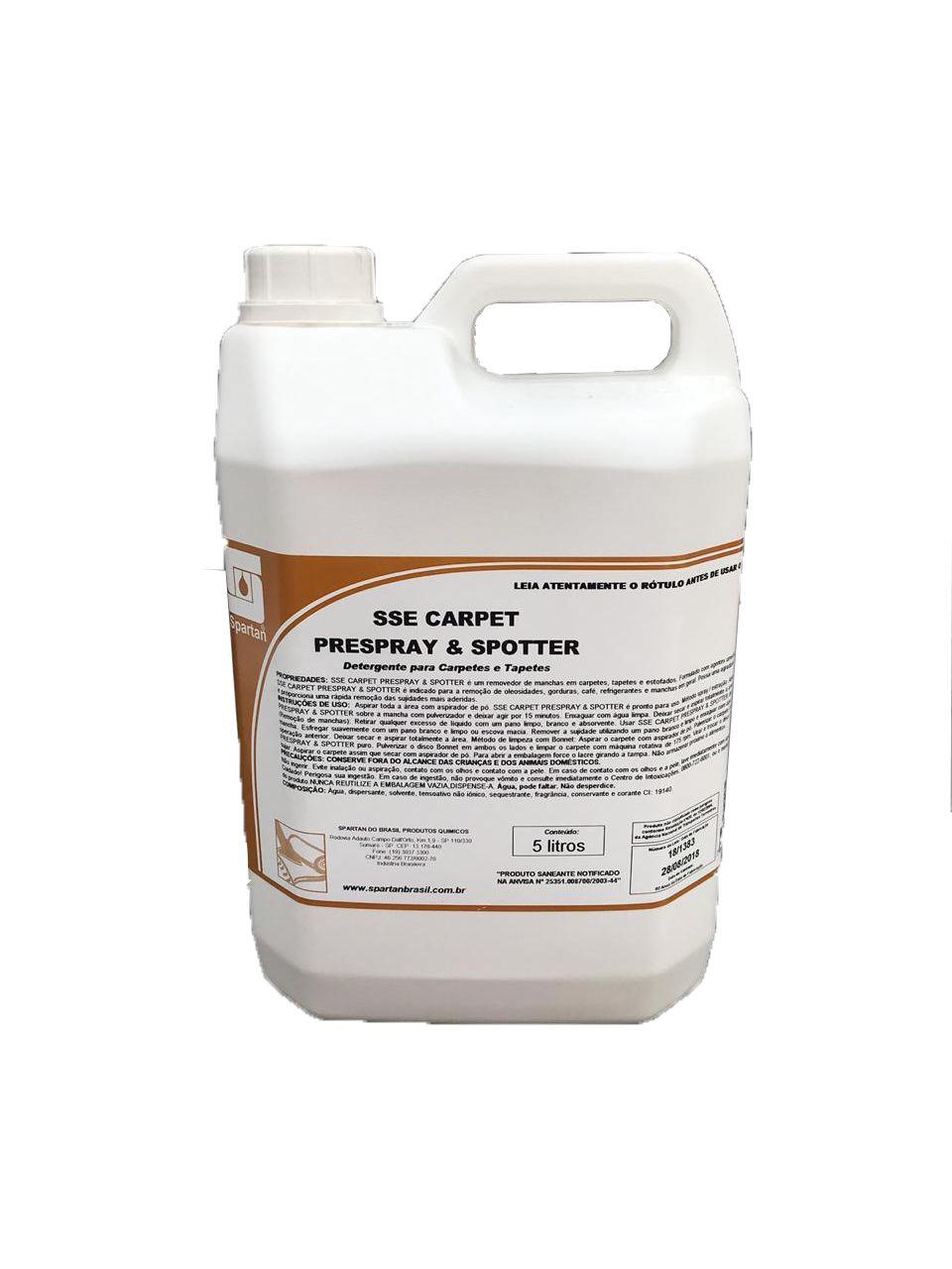 Tira Manchas Estofados E Carpetes Sse Carpet 5l - 2 Galões