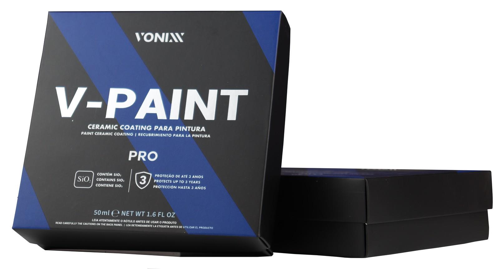Vitrificador de Pintura V-Paint 50 ml Vonixx