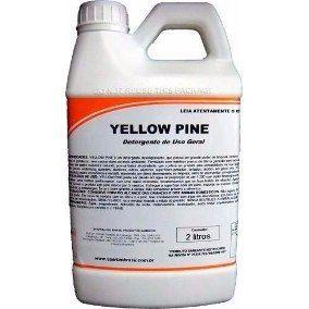 Yellow Pine Detergente de Uso Geral 2 Litros