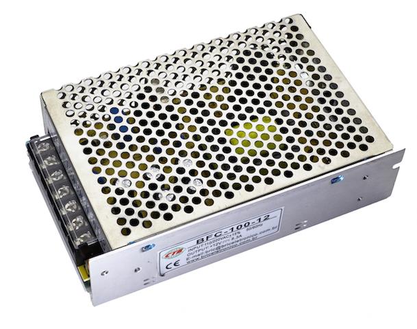 Fonte para fita LED 5050 - 6A