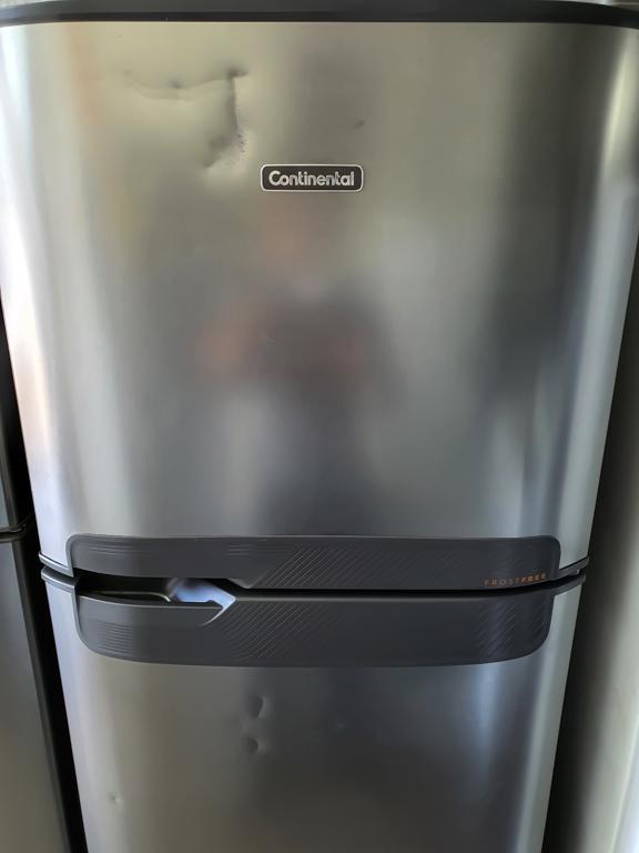 Geladeira Continental - Frost Free Duplex Prata 472L TC56S
