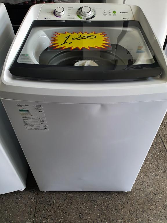 Lavadora de Roupas Consul 12Kg CWH12AB com Dosagem Extra Econômica  Branca