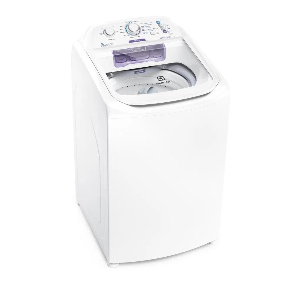 Máquina de Lavar 10,5kg Electrolux Branca Turbo Economia, Jet&Clean e Filtro Fiapos (LAC11) - 220V - NOVA LACRADA