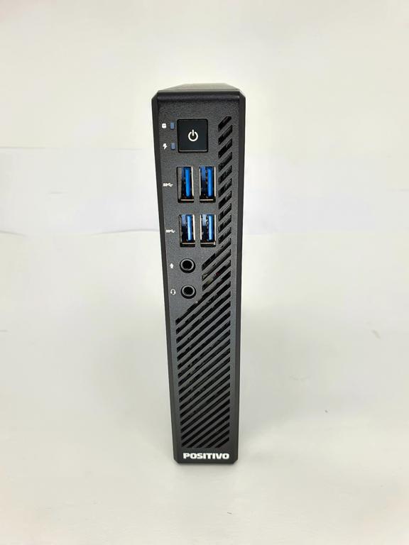 Mini CPU POSITIVO Dual Core Sétima Geração - POSITIVO MASTER C600 com Processador Intel Dual Core Sétima Geração - RAM 4GB - HD 500GB