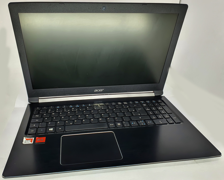 Notebook ACER AMD A12 - ACER ASPIRE A515 com Processador AMD A12-9720P - RAM 8GB - HD 1TB - TELA 15,6