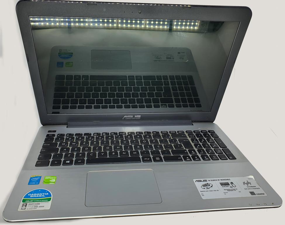 Notebook ASUS i5 Quinta Geração - ASUS X555L com Processador Intel Core i5 Quinta Geração - RAM 6GB - HD 128GB SSD - TELA 15,6