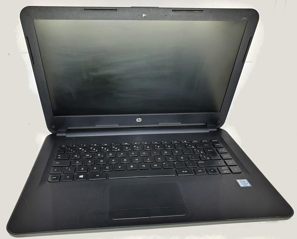 Notebook HP i5 Sexta Geração - HP PAVILION 240 G4 com Processador Intel Core i5 Sexta Geração - RAM 4GB - HD 500GB - TELA 14
