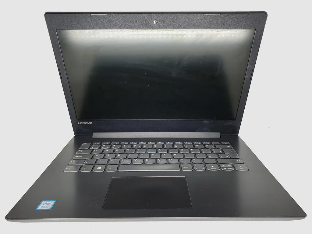 Notebook LENOVO i5 Sétima Geração - LENOVO IDEAPAD 320 com Processador Intel Core i5 Sétima Geração - RAM 8GB - HD 128GB SSD - TELA 14