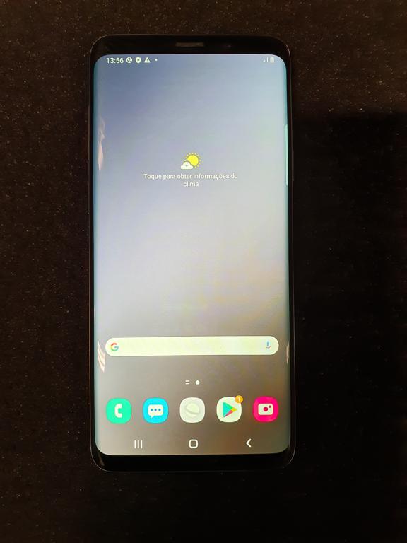 Samsung Galaxy S9 PLUS 128GB - Cinza - Aparelho com detalhe favor consultar