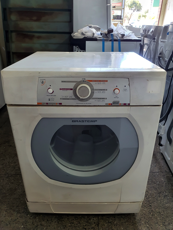 secadora bsr10 10 kg piso branca - brastemp 110v