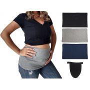 Extensor prolongador de calça para gestante com 3 faixas