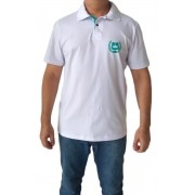 Polo adulta masculina estampa coroa
