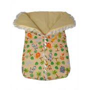 Porta bebê saco de dormir com zíper