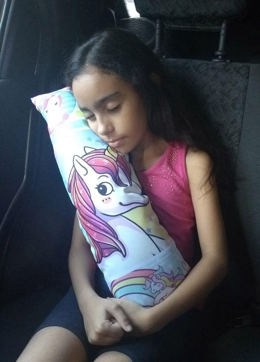 Almofada infantil para cinto de segurança do carro para criança