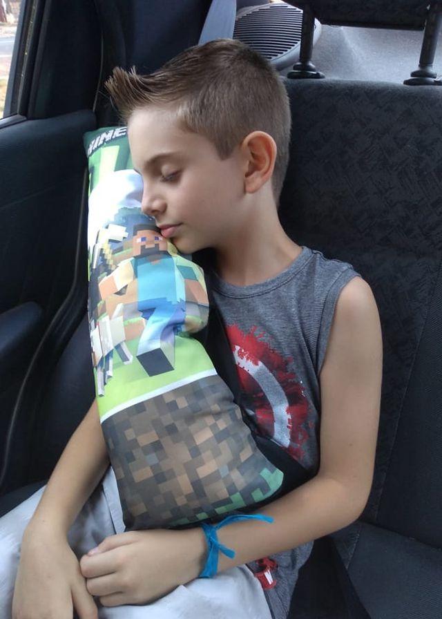 Almofada protetora para cinto de segurança do carro conforto para criança