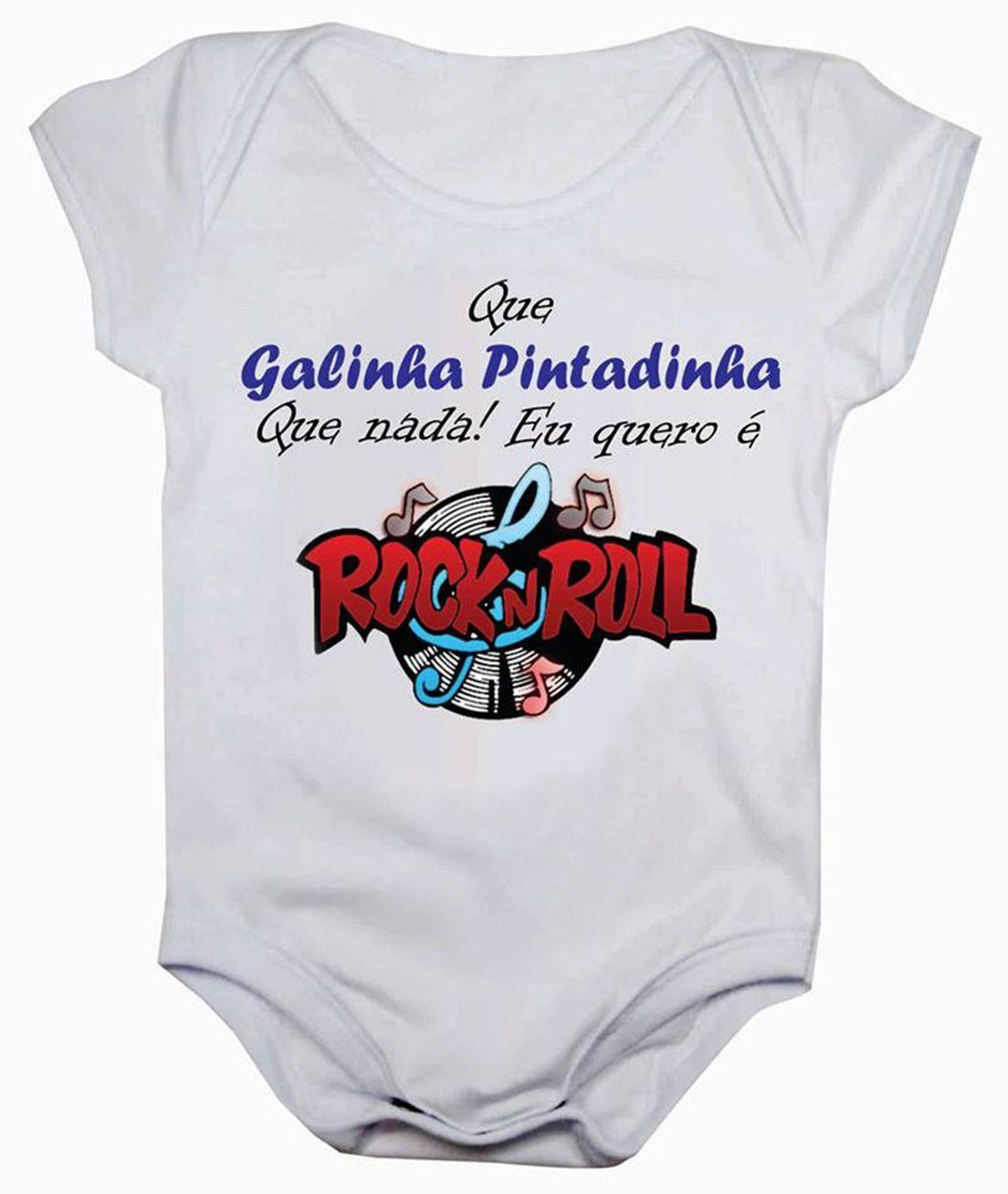 Body de bebê eu quero é rock in roll