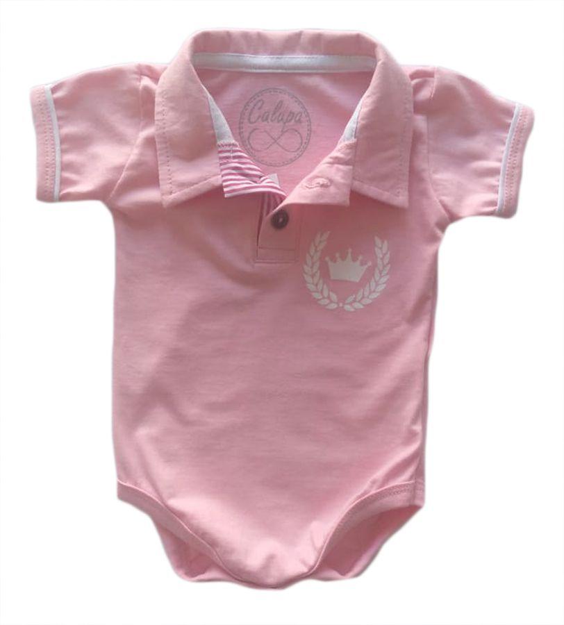 Body de bebê polo