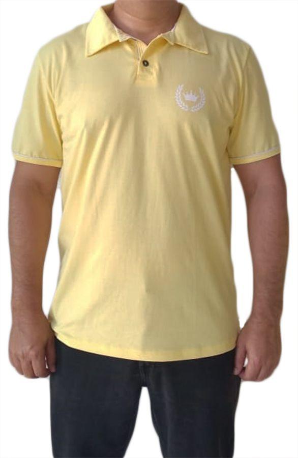 Camisa polo adulta masculina