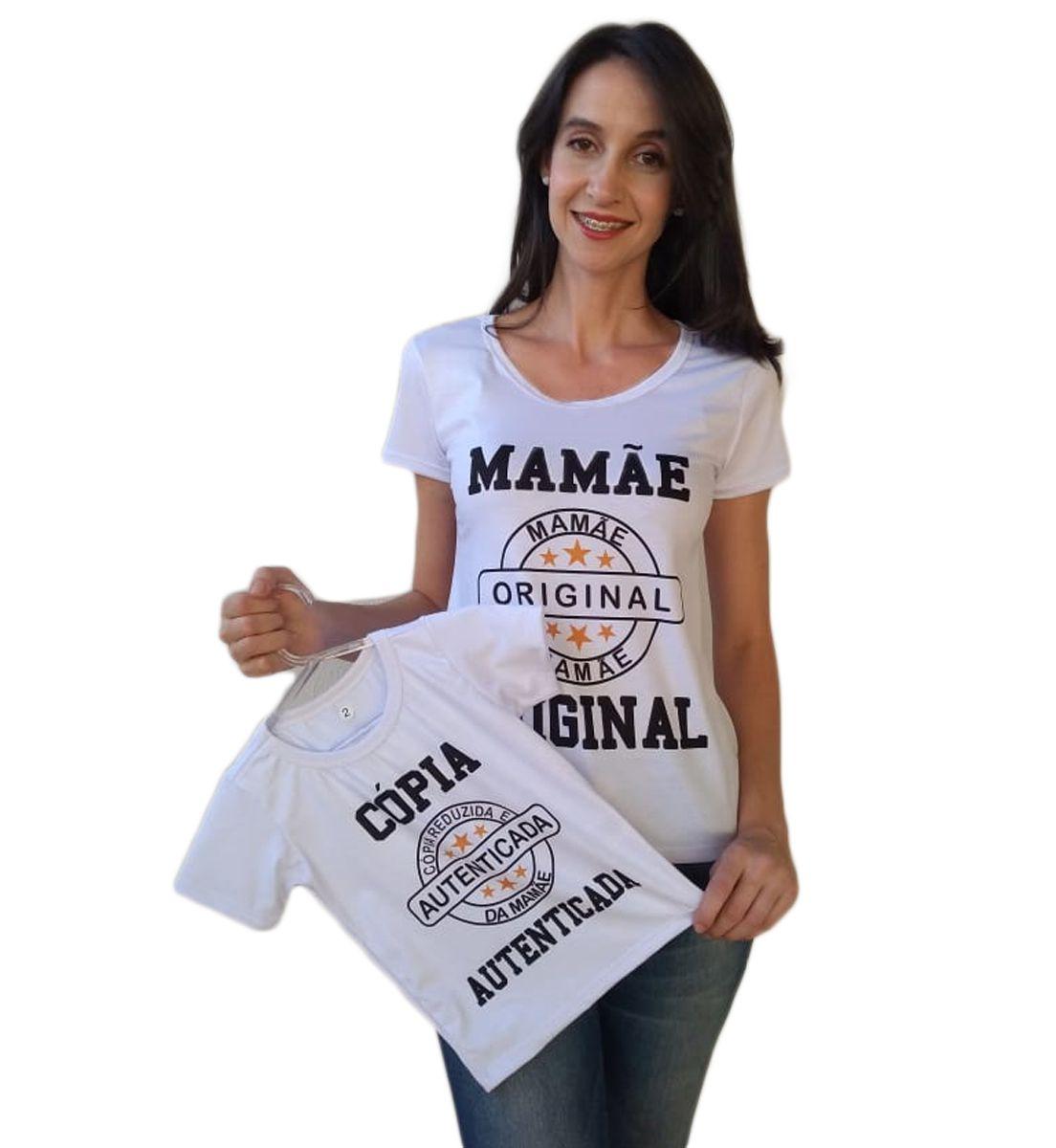 Camiseta Adulta e infantil Tal mãe tal filho