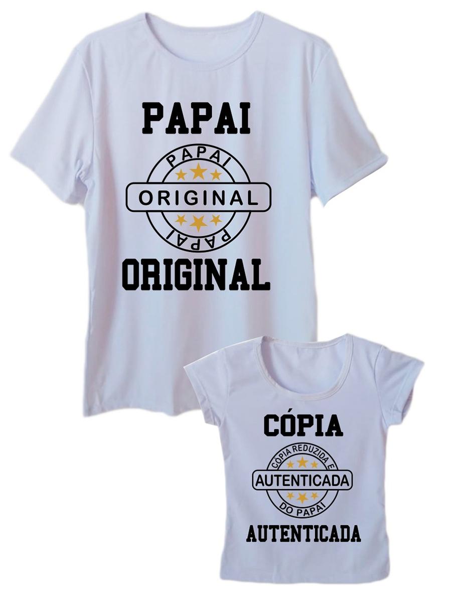 Camiseta Adulta Masculina e Infantil Feminina Tal Pai Tal Filha
