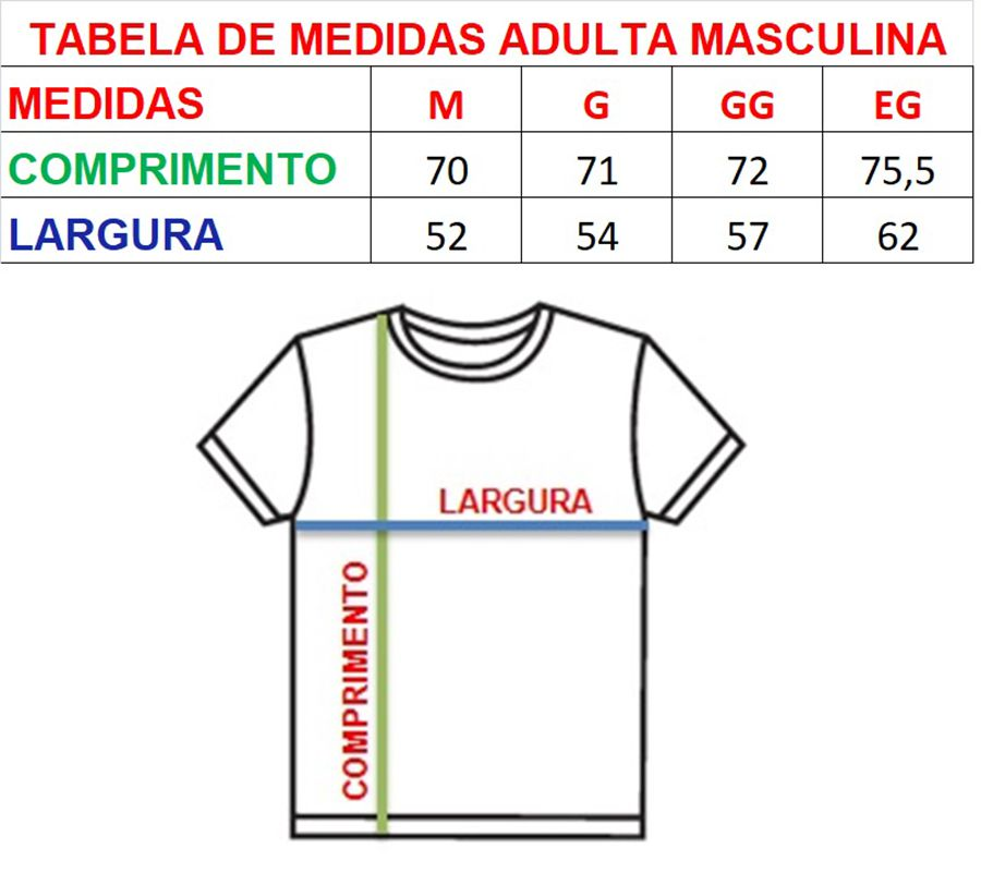 Camiseta t-shirt adulta masculina e body de bebê unissex