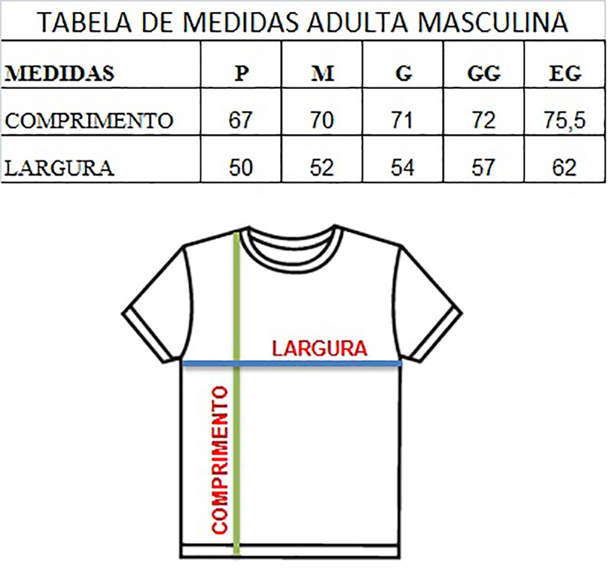 Camiseta t-shirt adulta masculina guitarras