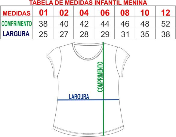 T-shirt camiseta adulta e infantil feminina xô mau olhado