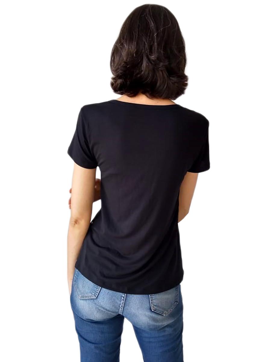 Tshirt Adulta Feminina Estampa Porquinha