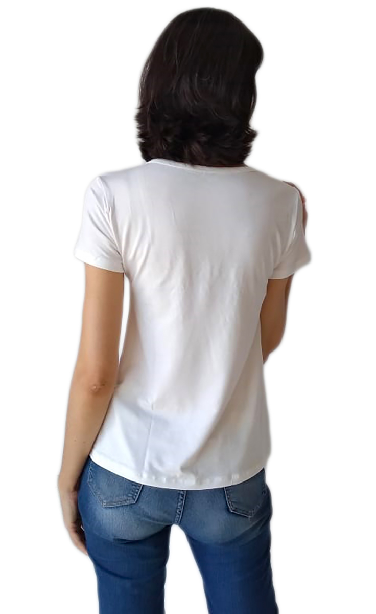 Tshirt Camiseta Adulta e Infantil Santa Nossa Senhora Aparecida Tal Mãe Tal Filha