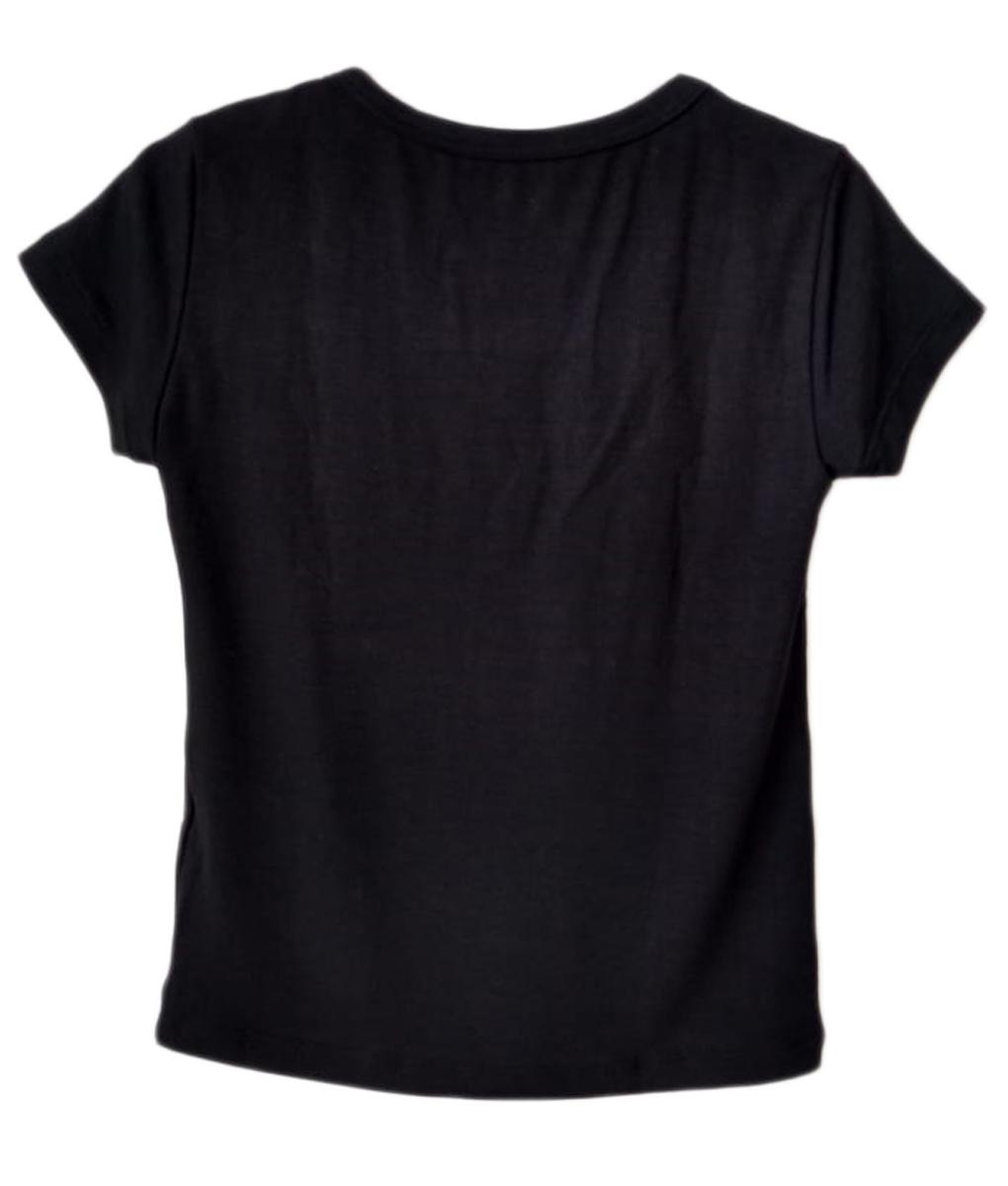 Tshirt Infantil Feminina Porquinha