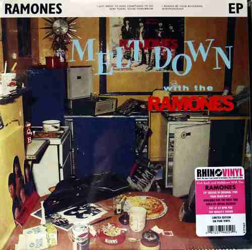 Lp Vinil Ep Kick Back And Metdown With The Ramones