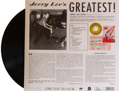 Lp Jerry Lee Lewis Greatest Hits