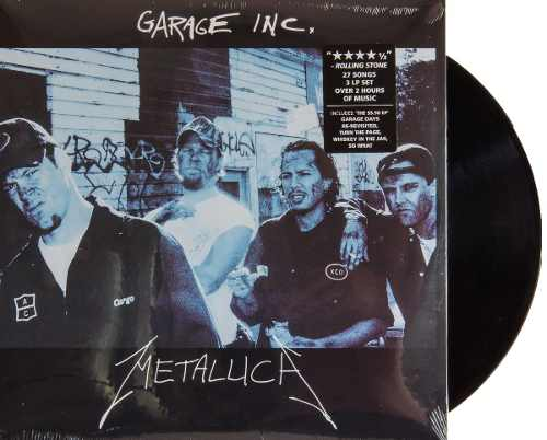 Lp Vinil Metallica Garage Inc.