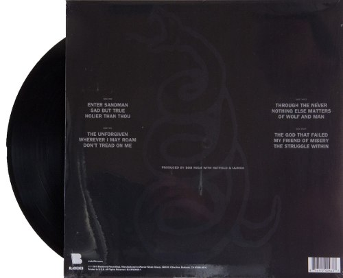 Lp Vinil Metallica Black Album