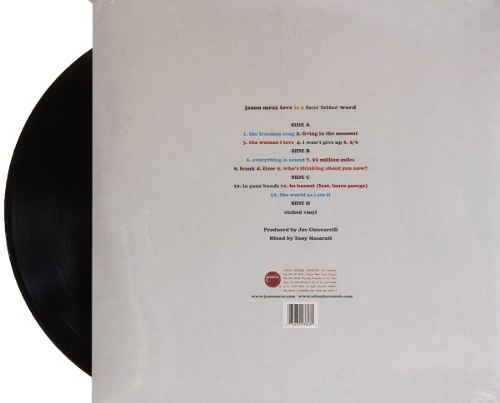 Lp Vinil Jason Mraz Love Is A Four Letter Word