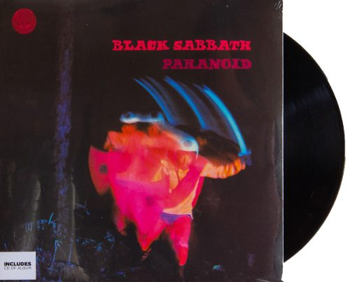 Lp Vinil + CD Black Sabbath Paranoid