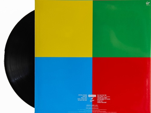 Lp Vinil Queen Hot Space