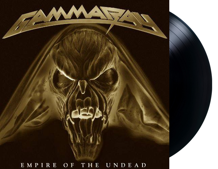Lp Vinil Gamma Ray Empire Of The Undead